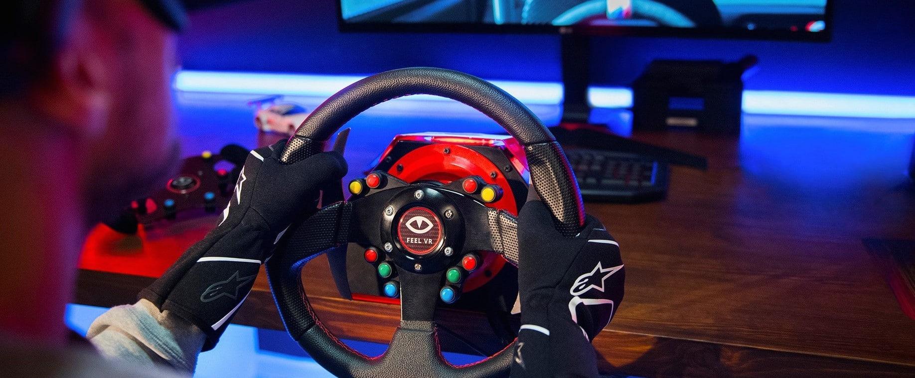 Feel VR: Racing-Lenkrad der nächsten Generation