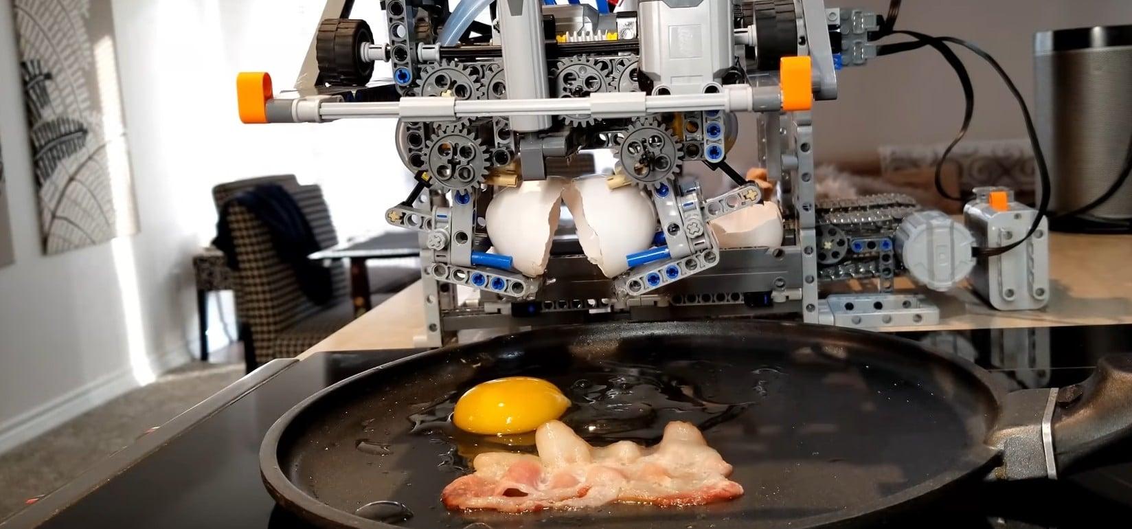 LEGO Breakfast Machine: Dieser Apparat macht euch Frühstück