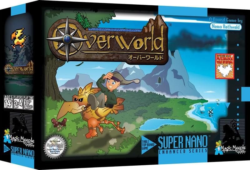 Overworld: 16bit-Abenteuer trifft auf Brettspiel