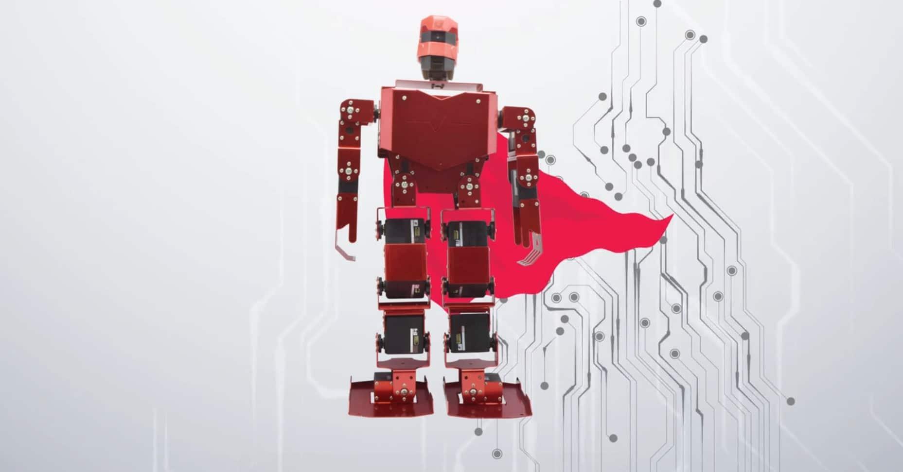 PiMecha: Baut euch einen humanoiden Roboter