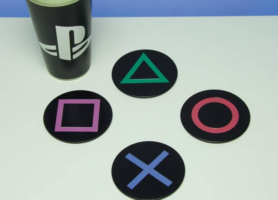 PlayStation Icons: Praktische Untersetzer für die nächste Party