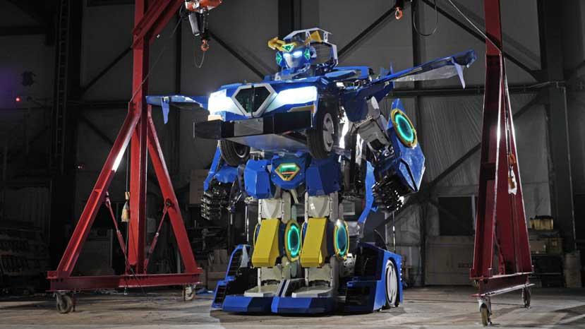 J-deite Ride: Dieses Auto verwandelt sich in einen Transformer!