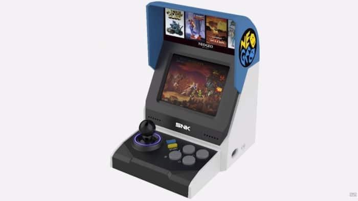 Wie wäre es mit diesem Neo Geo Mini? (Foto: SNK)