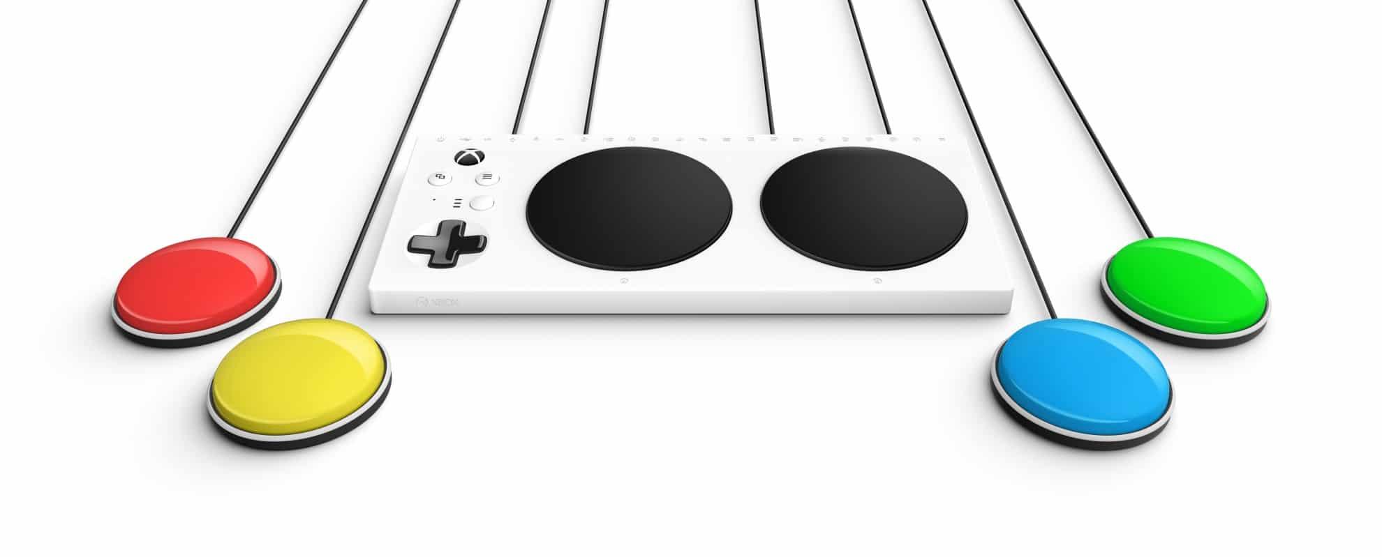 Außergewöhnlich - der Xbox Adaptive Controller. (Foto: Microsoft)