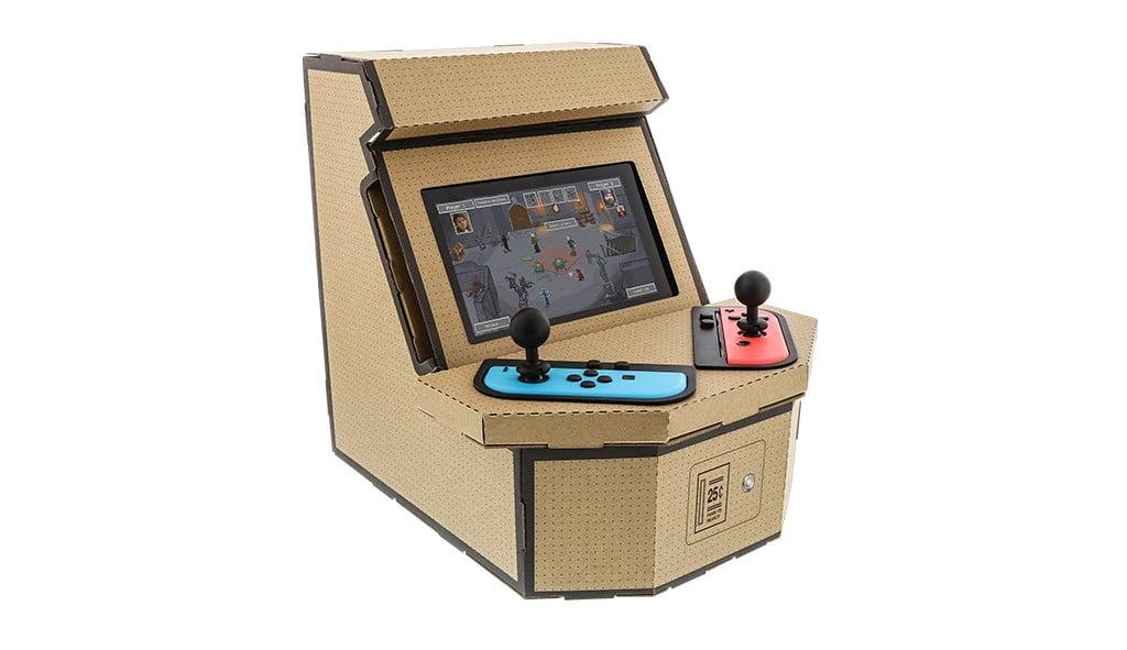 PixelQuest Arcade Kit: Nintendo Switch wird zum Arcade-Automaten!