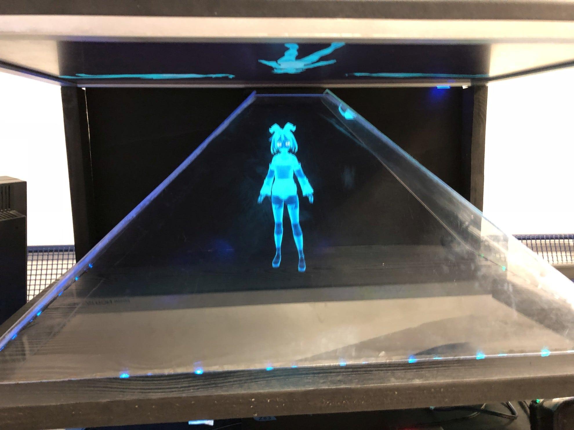 Alexa Holographic Appliance: Sprachassistentin als Hologramm