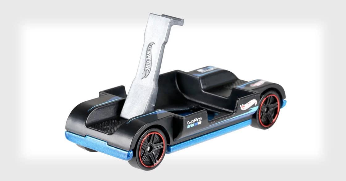Hot Wheels Zoom: Winziges Spielzeugauto für Actioncams