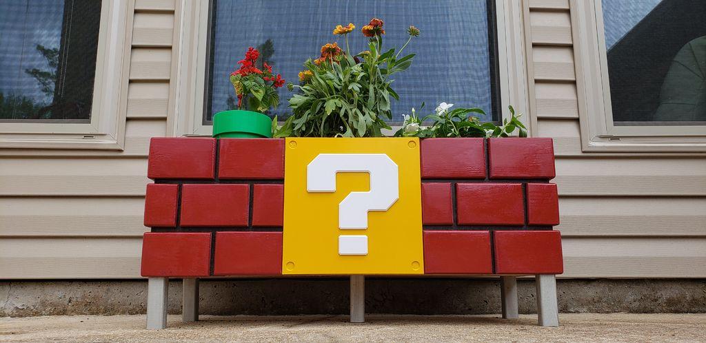 Mario Planter Box: Nerdiges Hochbeet für den Vorgarten