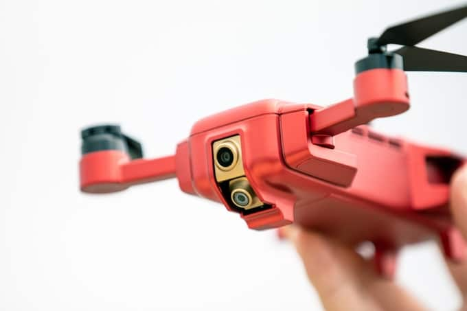 Die Drohne kann was. (Foto: Mark)