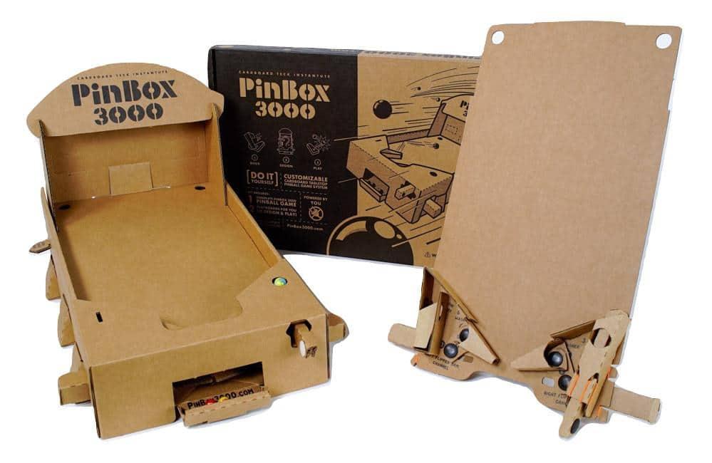 PinBox 3000: Baut euch einen eigenen Flipperautomaten. Aus Pappe!