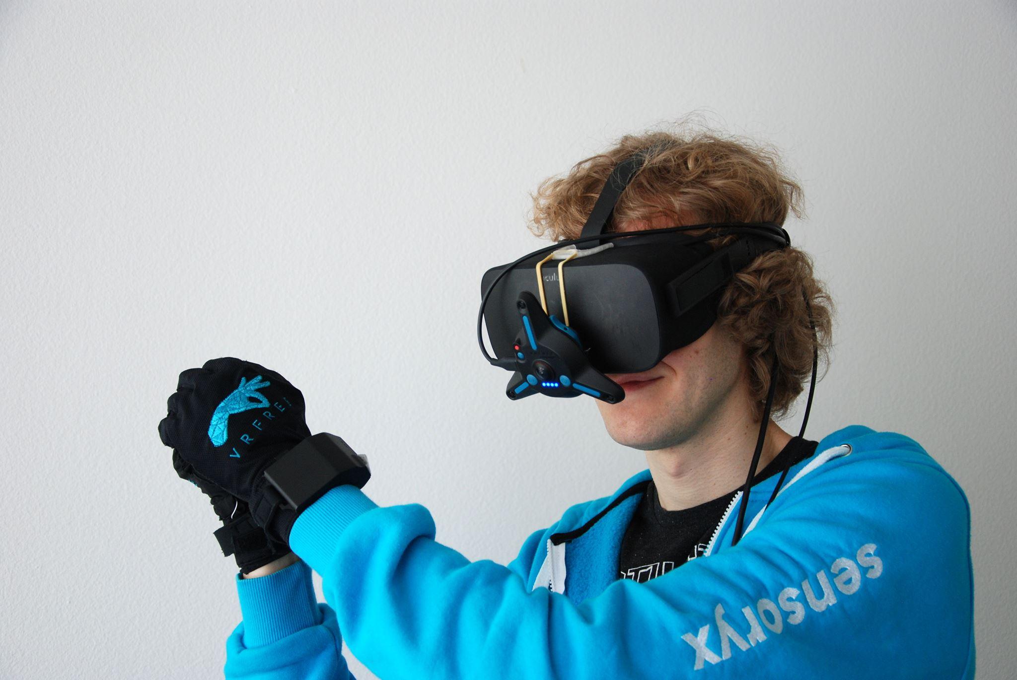 Die Handschuhe benötigen noch eine zusätzliche Peripherie. (Foto: Sensoryx)