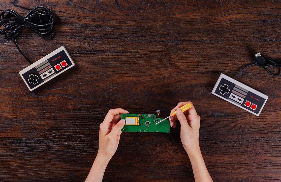 Modernisiert den NES-Controller mit dem DIY Kit. (Foto: 8Bitdo)