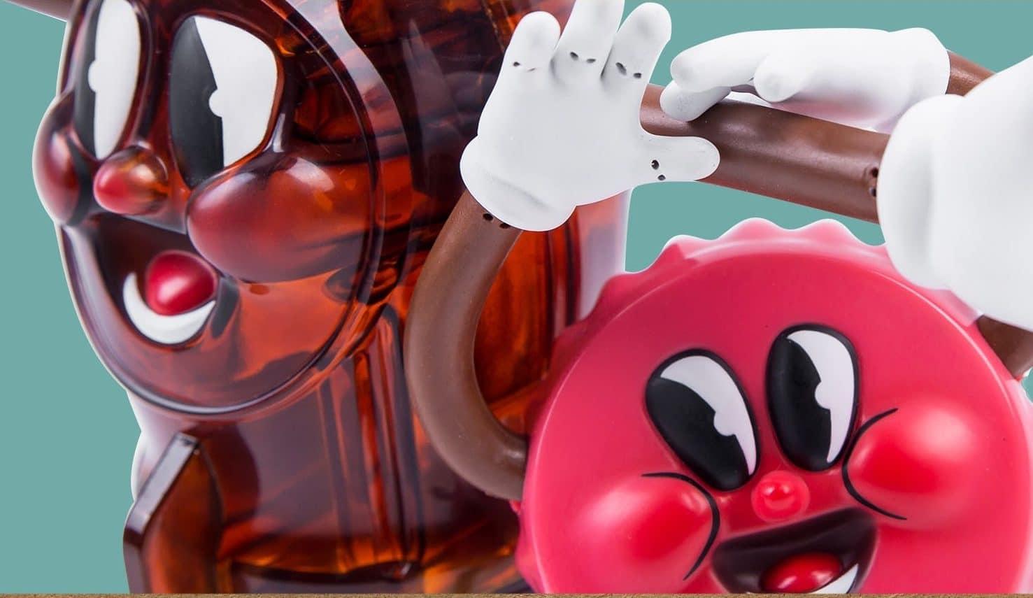 Fallout Bottle & Cappy: Flasche und Kronkorken als Figuren