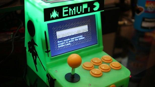 EmuPi Mini Arcade Cabinet: Spielautomat aus dem 3D-Drucker