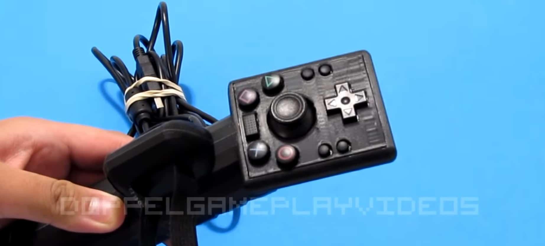 Das ist der Einhand-Controller für die PS4. (Foto: Doppel / YouTube)