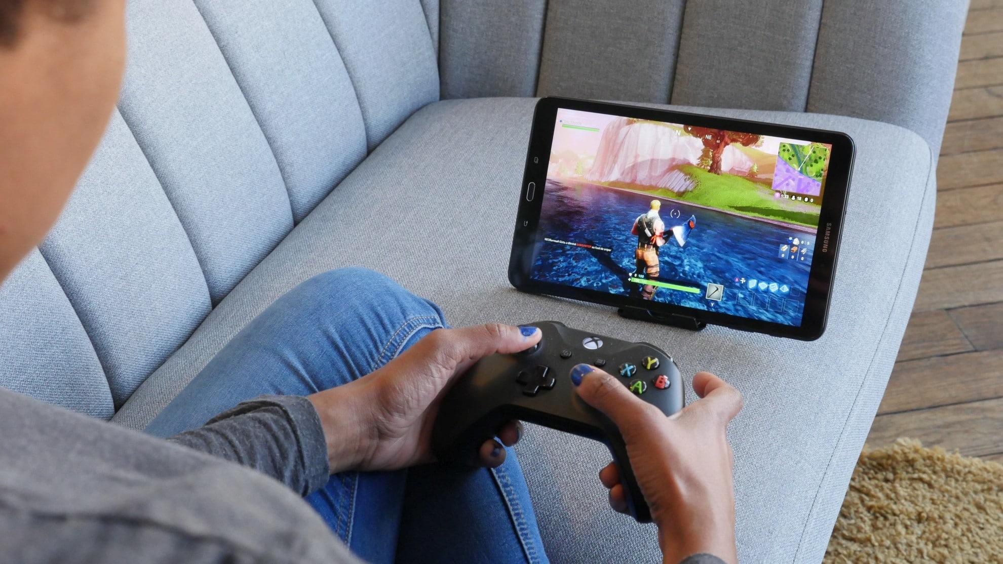Tablet, Laptop, Smartphone - ihr könnt mit beliebigen Geräten spielen. (Foto: Blade)