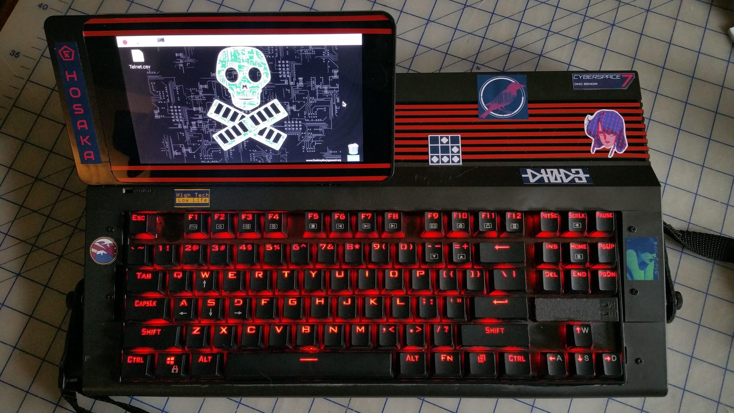 Ono Sendai Cyberspace 7: Alter C64 wird zu Cyberpunk-Rechner