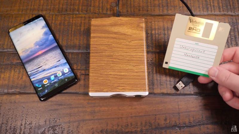 PC-Klassiker von Diskette auf dem Smartphone spielen? Ja, das geht. (Foto: Screenshot / LGR)