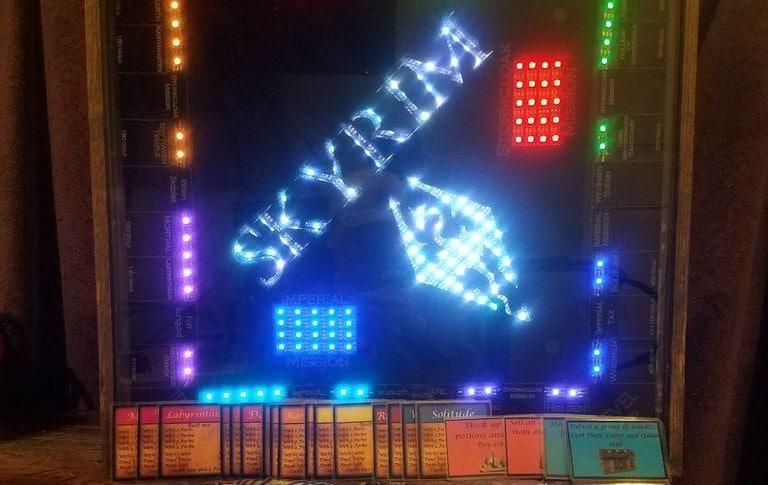 Ja, das ist ein Skyrim Monopoly. (Foto: Charles Ledford)