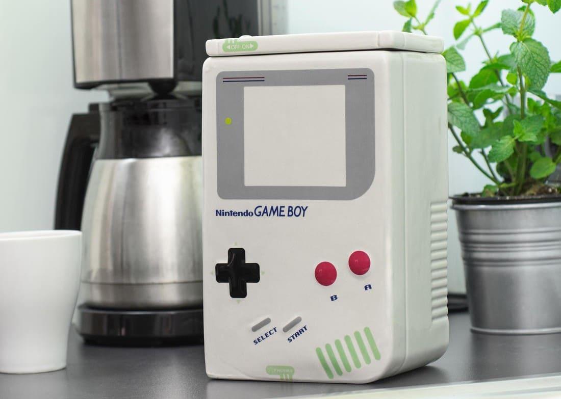 Gameboy Keksdose: Versteckt eure Kostbarkeiten im Handheld