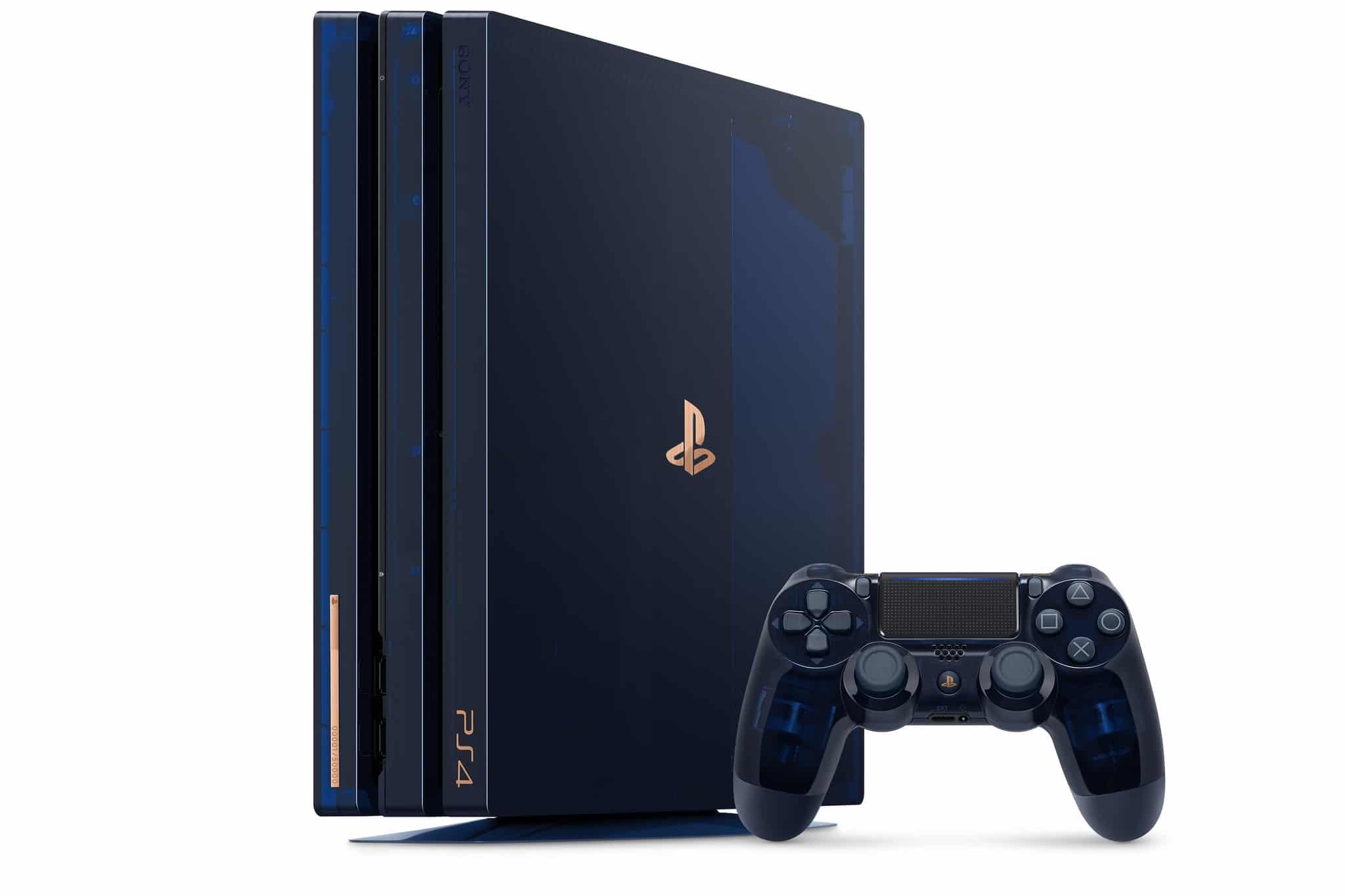 PlayStation: Transparante PS4 Pro zum Jubiläum