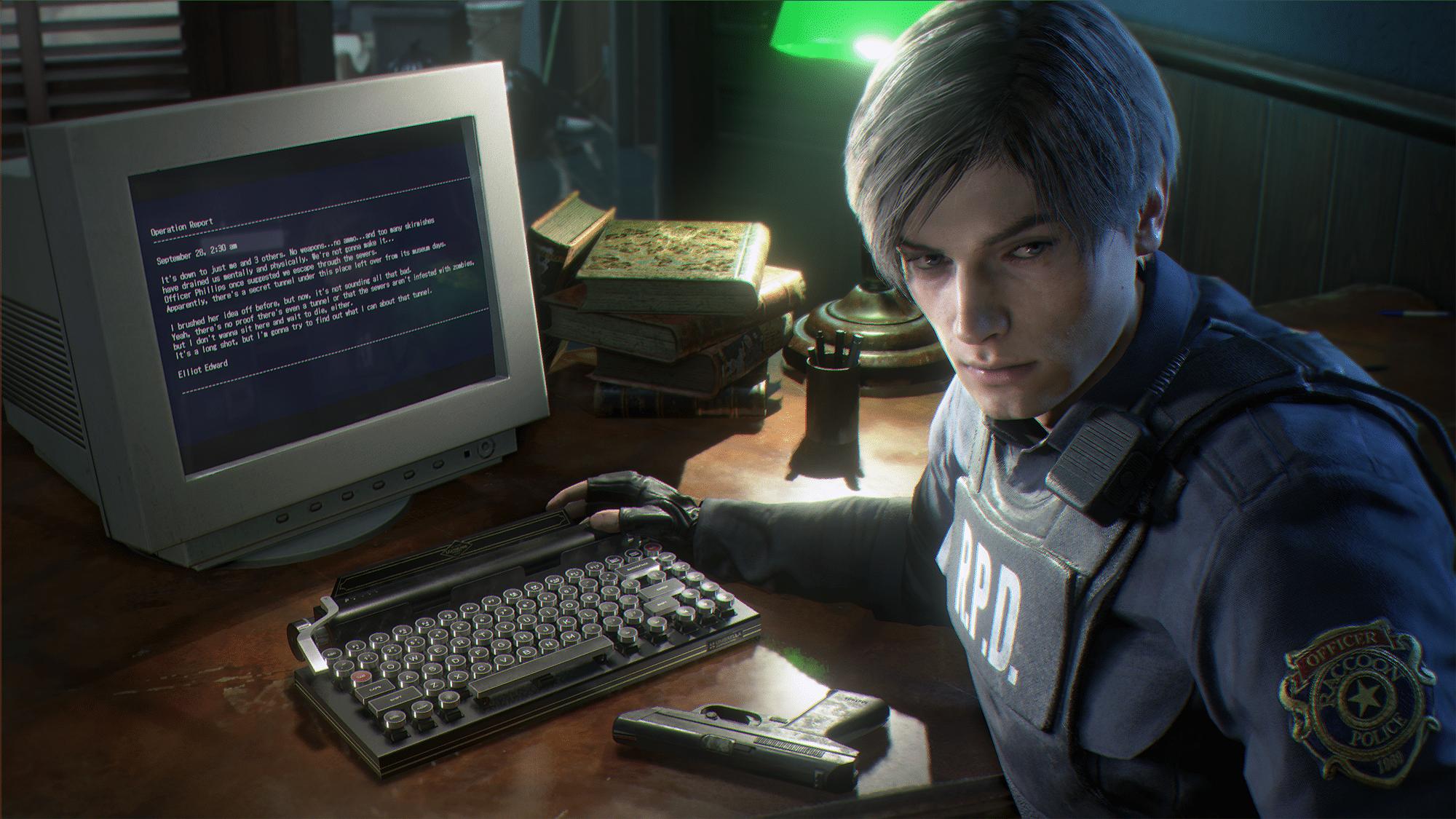 Diese Schreibmaschine könnt ihr auch bald haben. (Foto: Capcom)