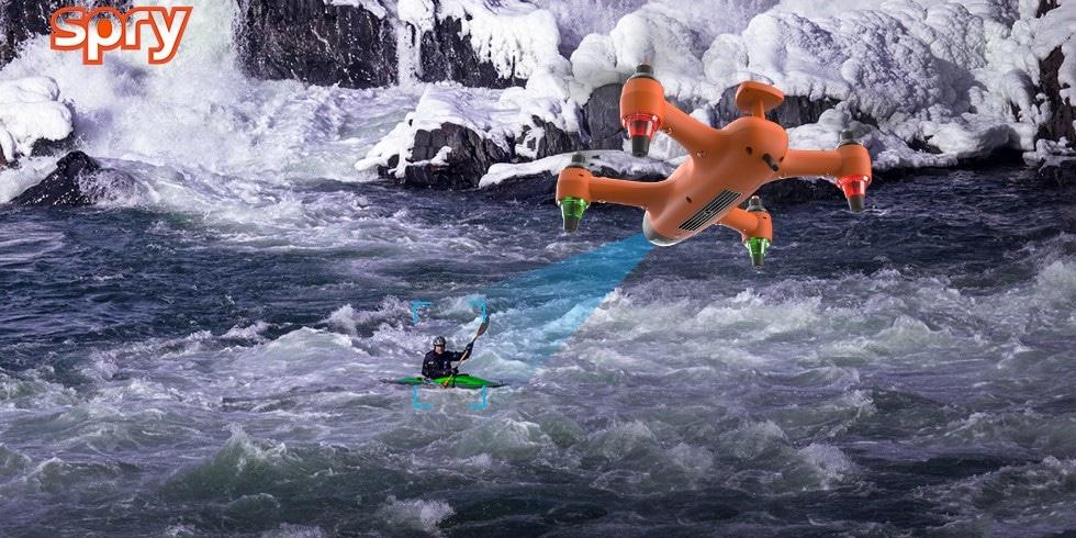 Ideal für Wassersportler. Aber Spry kann noch mehr. (Foto: SwellPro)