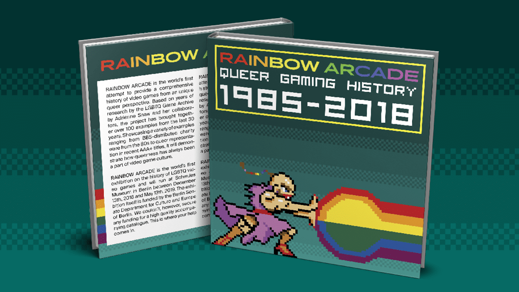 Das ist der Rainbow Arcade Katalog. (Das Schwule Museum)