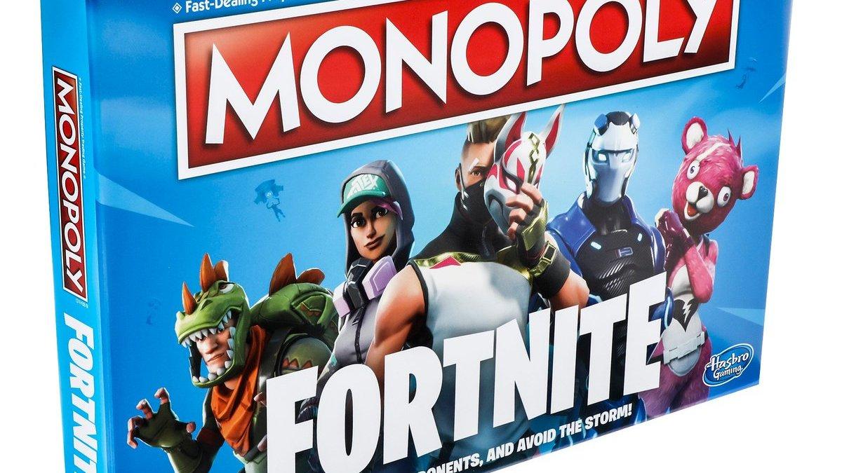 Monopoly trifft auf Fortnite. (Foto: Hasbro)