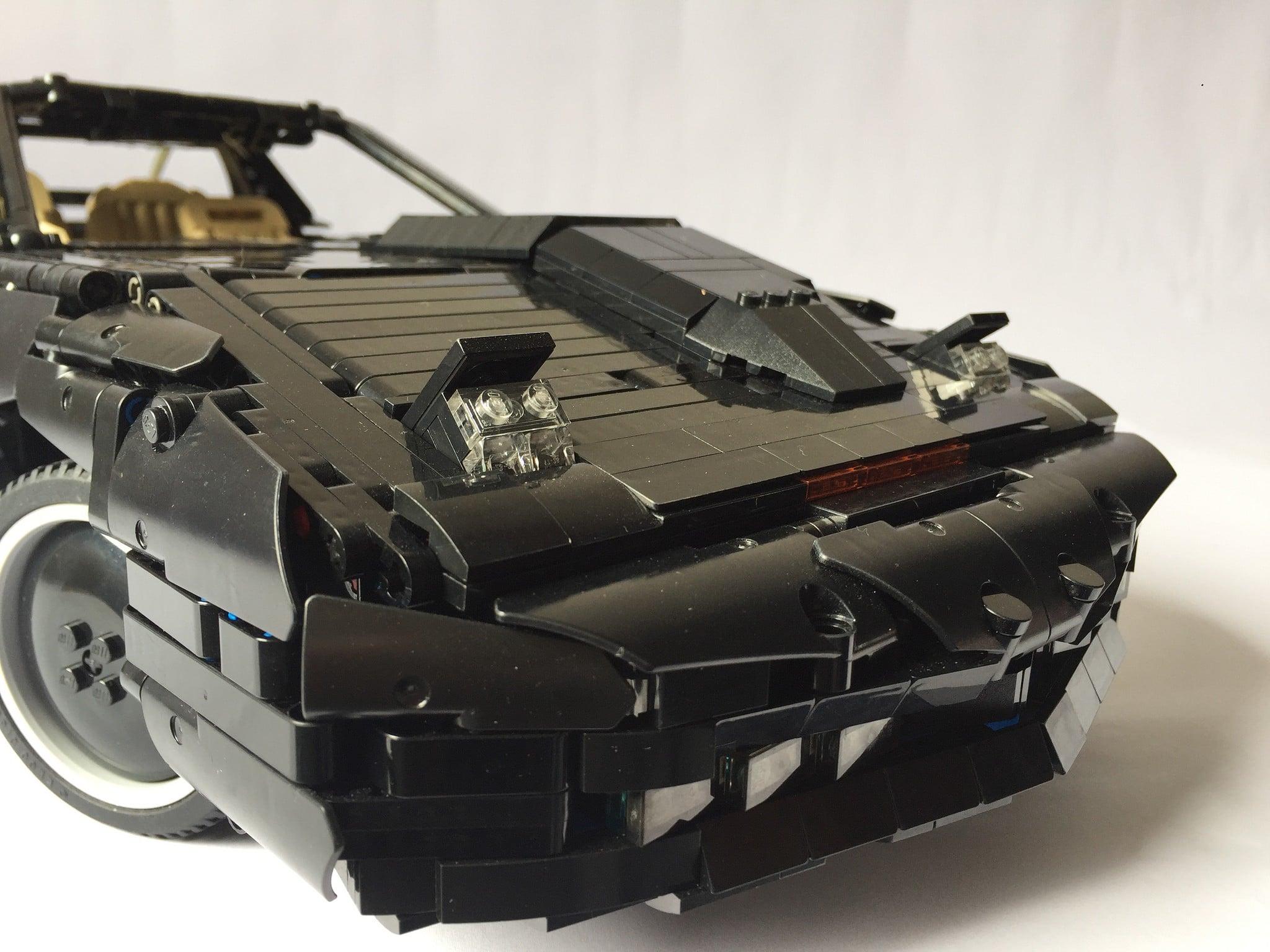 Das ist K.I.T.T. aus LEGO. (Foto: thewdarren)