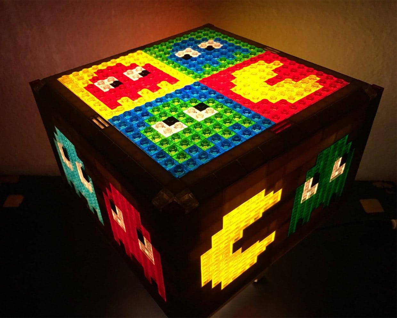 LEGO Pac-Man Lampen: Pixel-Spaß für die Wohnung