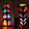 Der Pac-Man Tower aus über 2000 Teilen. (Foto: Jamieson Pond)