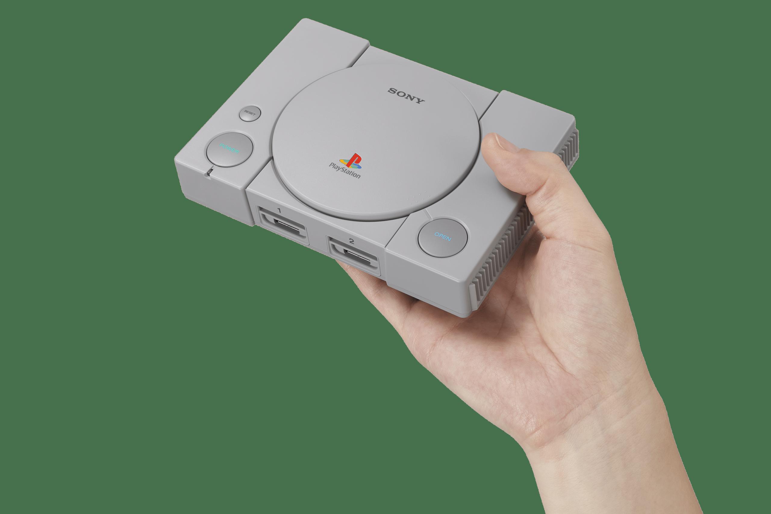 Awwww! Die kleine PlayStation Classic. (Foto: Sony)