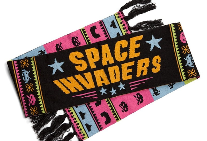 Space Invaders als Nerd-Schal. (Foto: ThinkGeek)
