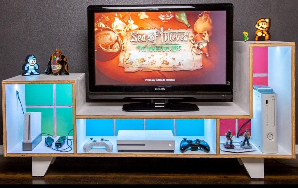 Dezenter Tetris-Spaß fürs Wohnzimmer. (Foto: The Beardless Man)