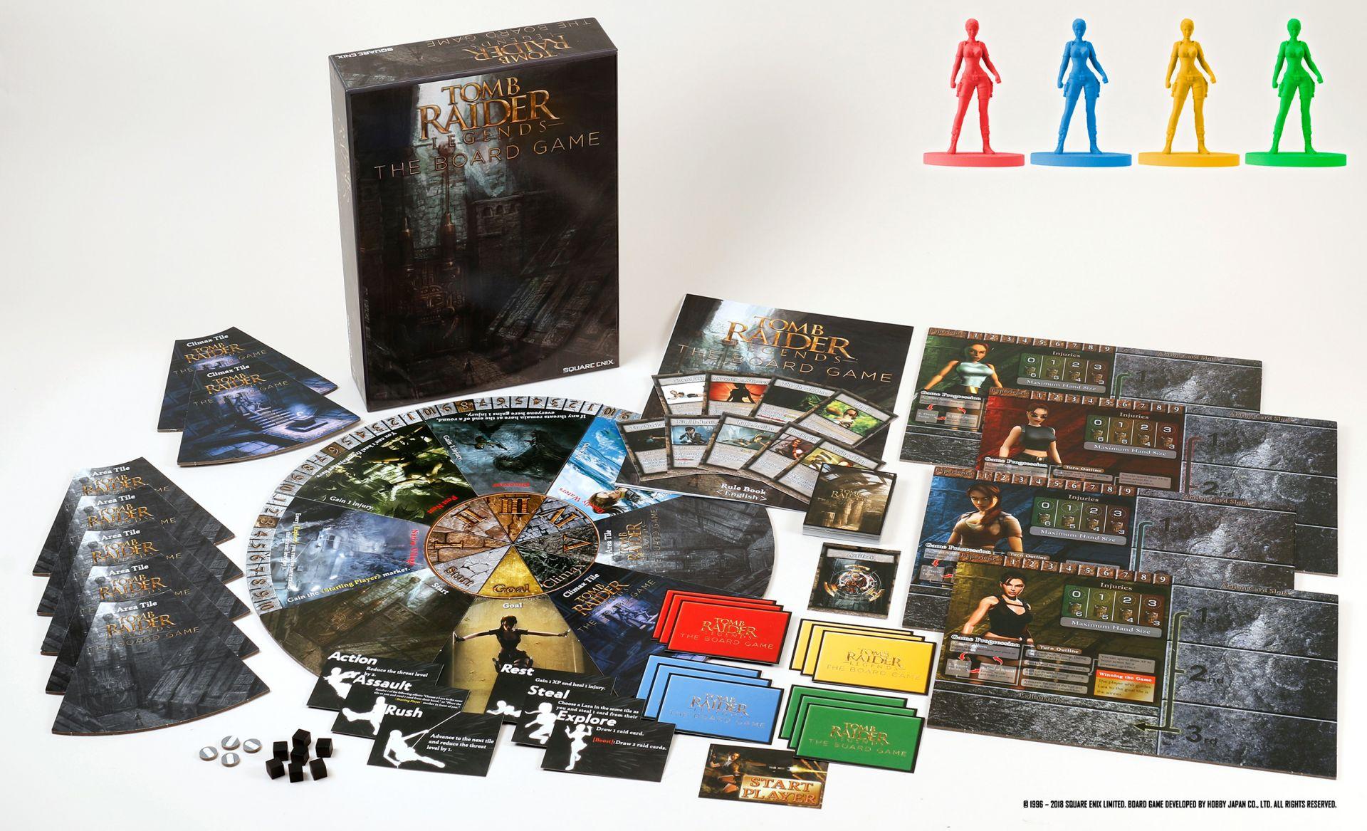 Tomb Raider Legends: Die Abenteuer von Lara als Brettspiel