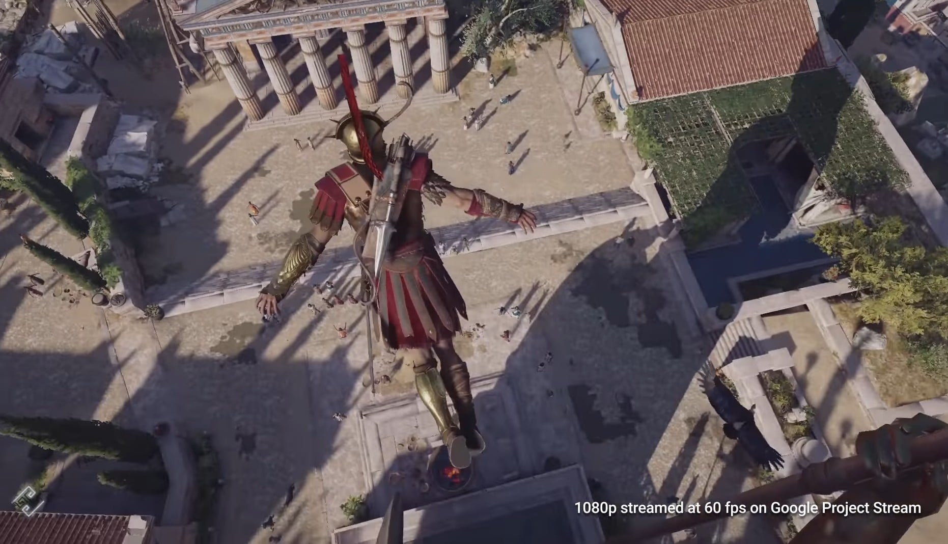 Assassin's Creed Odyssey im Browser? Das geht! (Foto: Screenshot / Ubisoft)