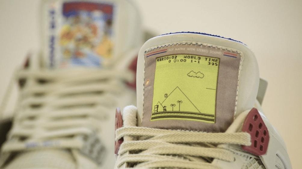 Zum Spielen sind diese Gameboy Sneakers aber nicht geeignet. (Foto: Freaker Sneaks)