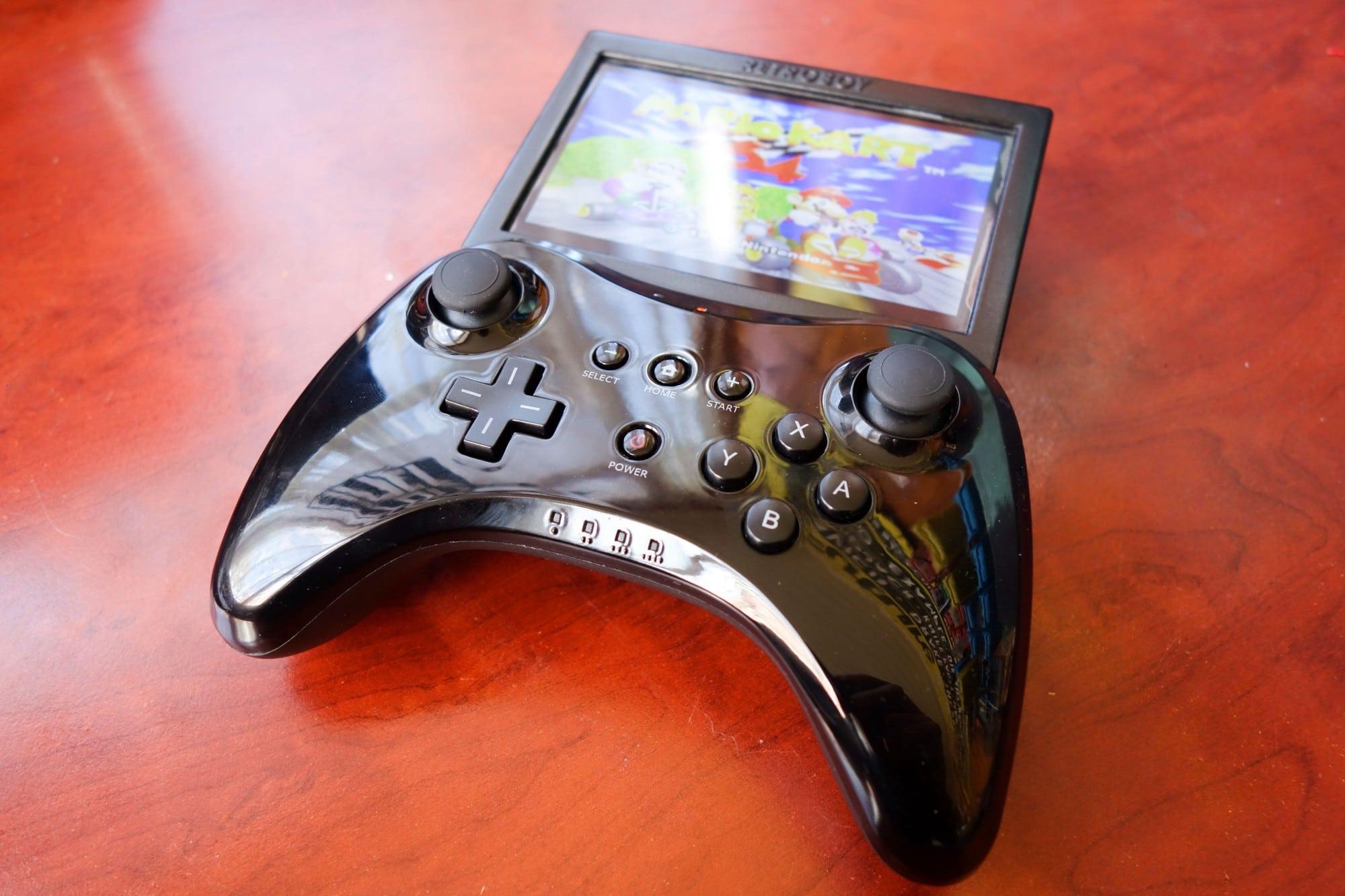 Eine coole Handheld-Konsole, dieser RetroBoy. (Foto: Finn Andersen)