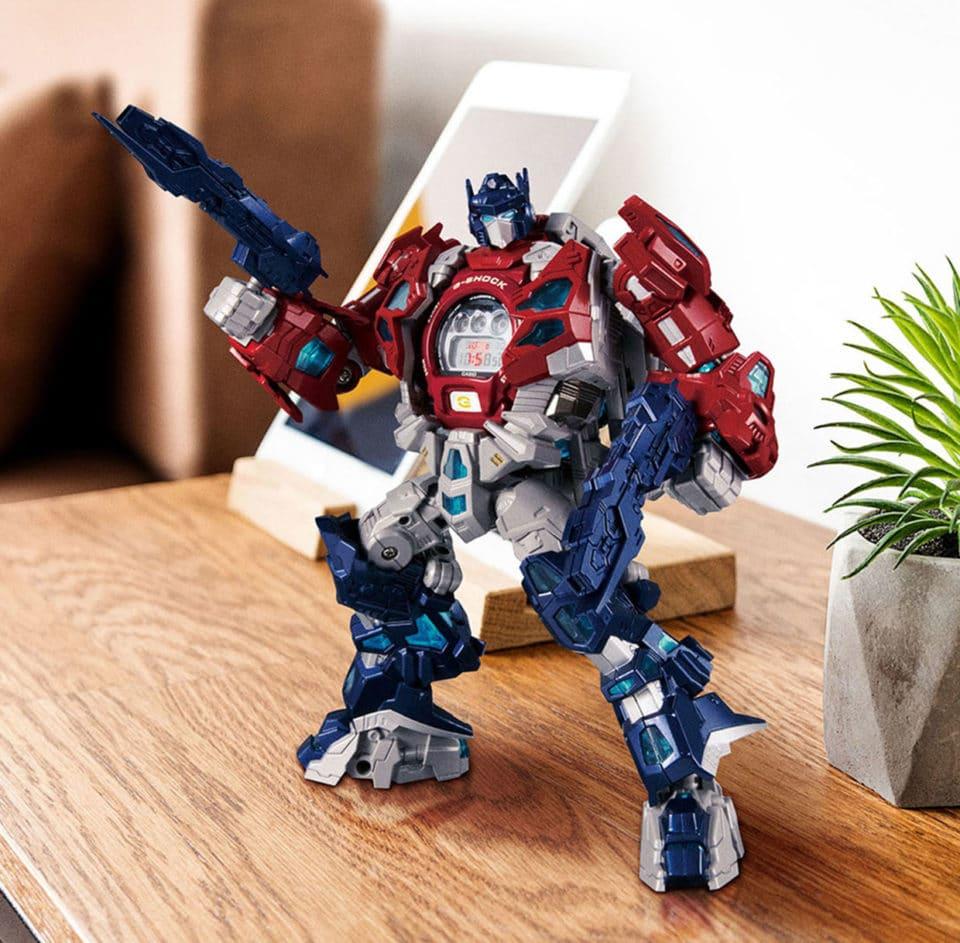 G-Shock x Transformers: Optimus Prime als Armbanduhr