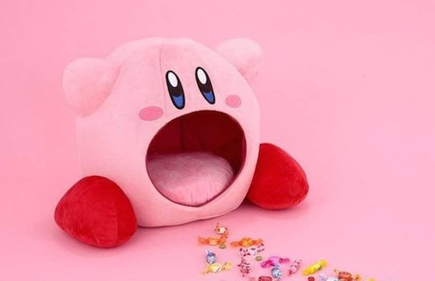 Kirby Einsaug-Kissen: Lasst euch einatmen!