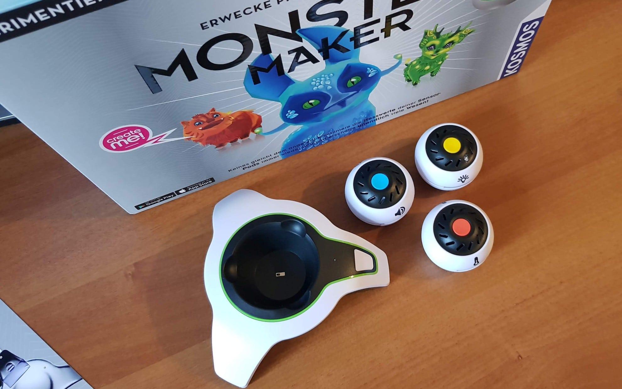 Monster Maker: Mit Sensoren Physik zum Leben erwecken? Im Test!