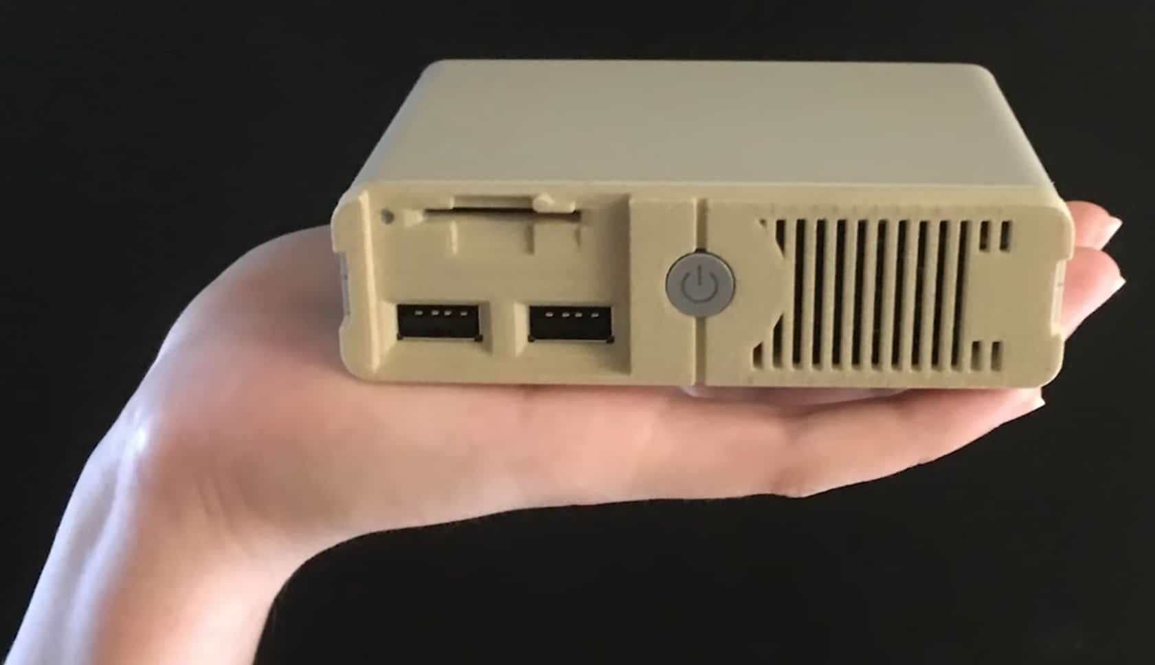 Hui. Schon ziemlich hässlich - das PC Classic. (Foto: Unit-e)