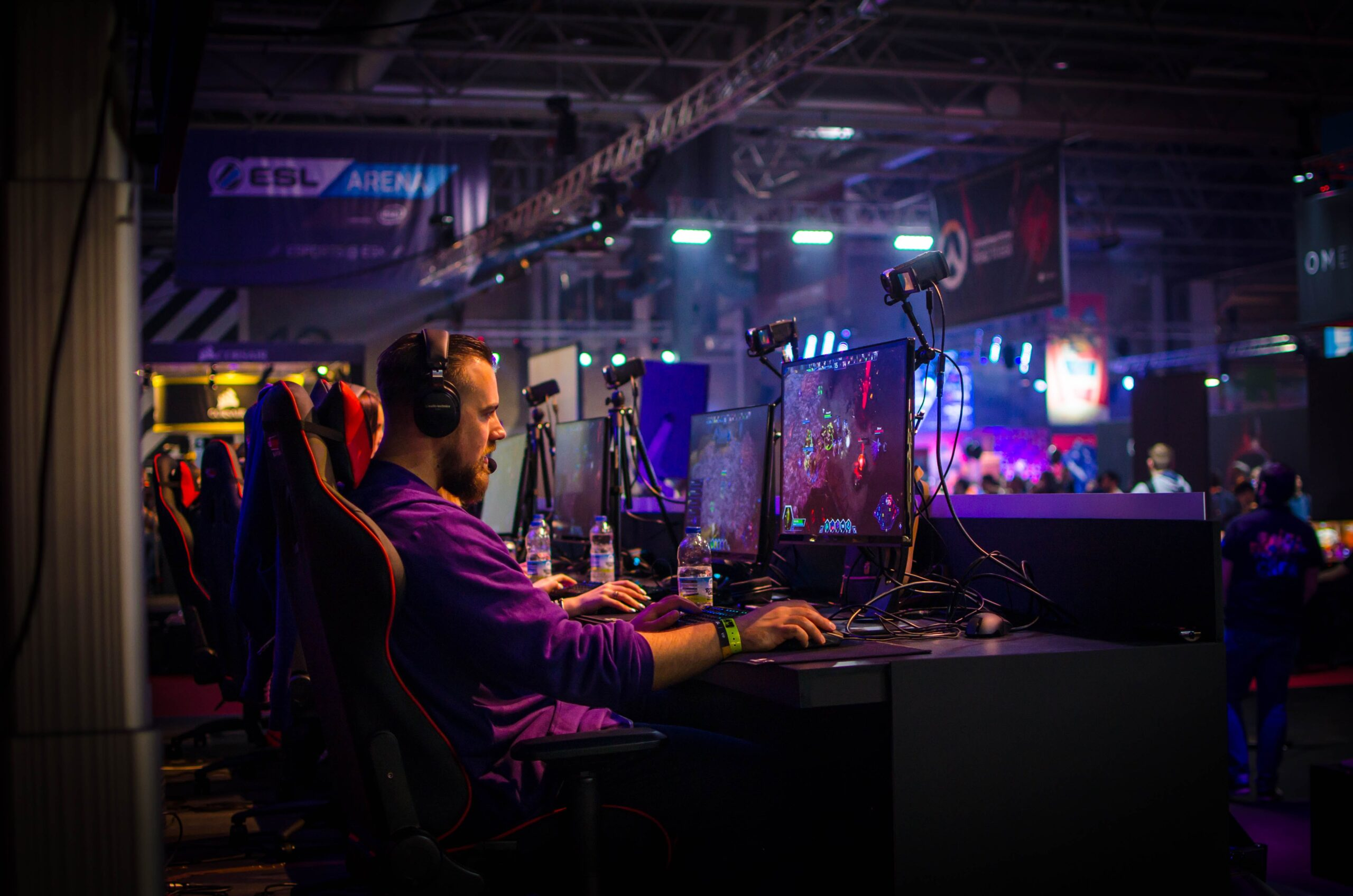Welche Gadget nutzen eSports-Profis? (Foto: Pexels)