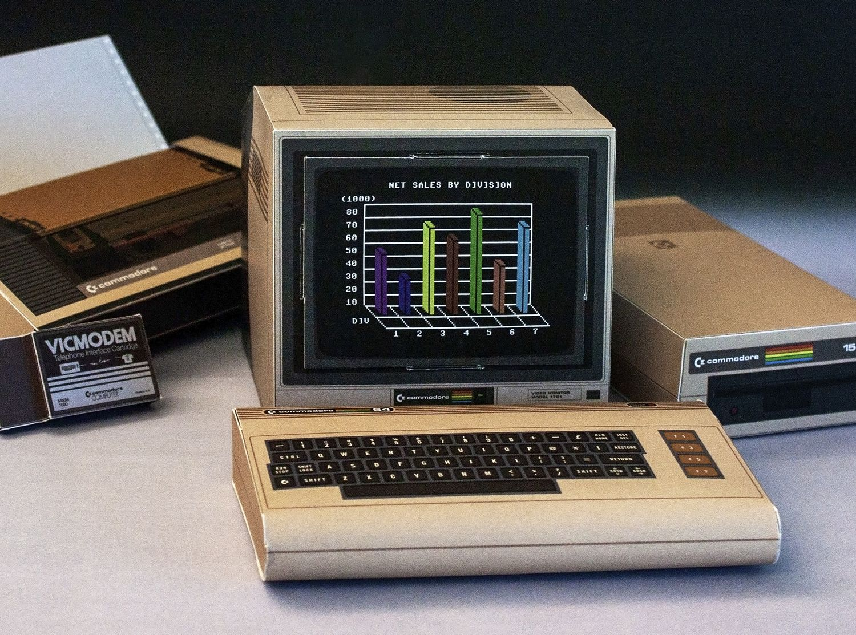 Retro Papercraft: C64, Apple II und Gamecube aus Papier!