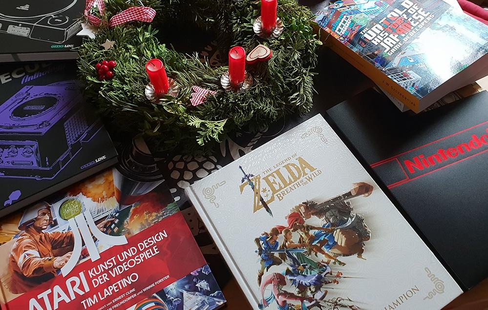 Bücher für Gamer zu Weihnachten? Ein paar Tipps gefällig?! (Foto: GamingGadgets.de)