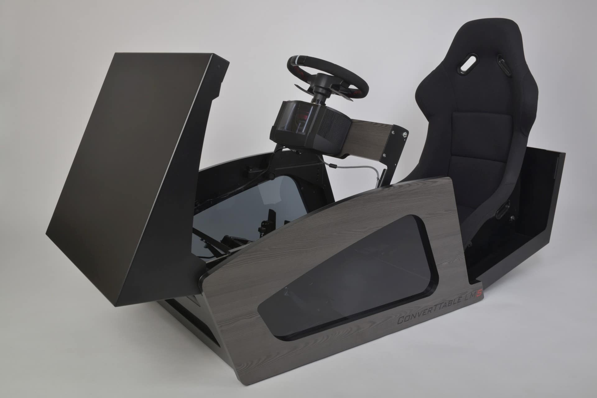 ConverTTable LM S: Aus diesem Couchtisch wird ein Cockpit