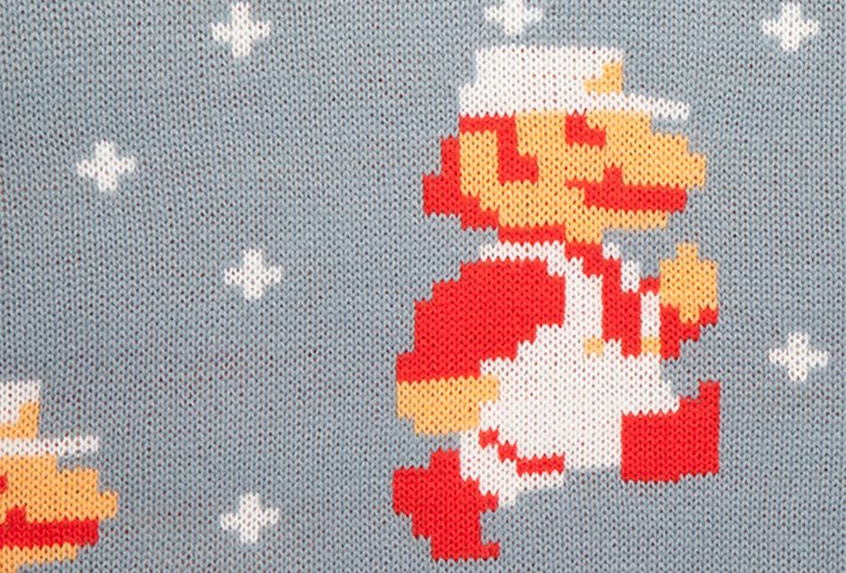 Nintendo Weihnachtspullover 2018: Mario und Link zum Anziehen