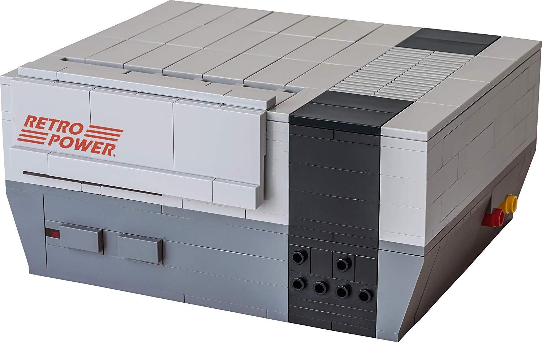Retro Power Retro Brick Cases: NES, SNES & MegaDrive aus LEGO
