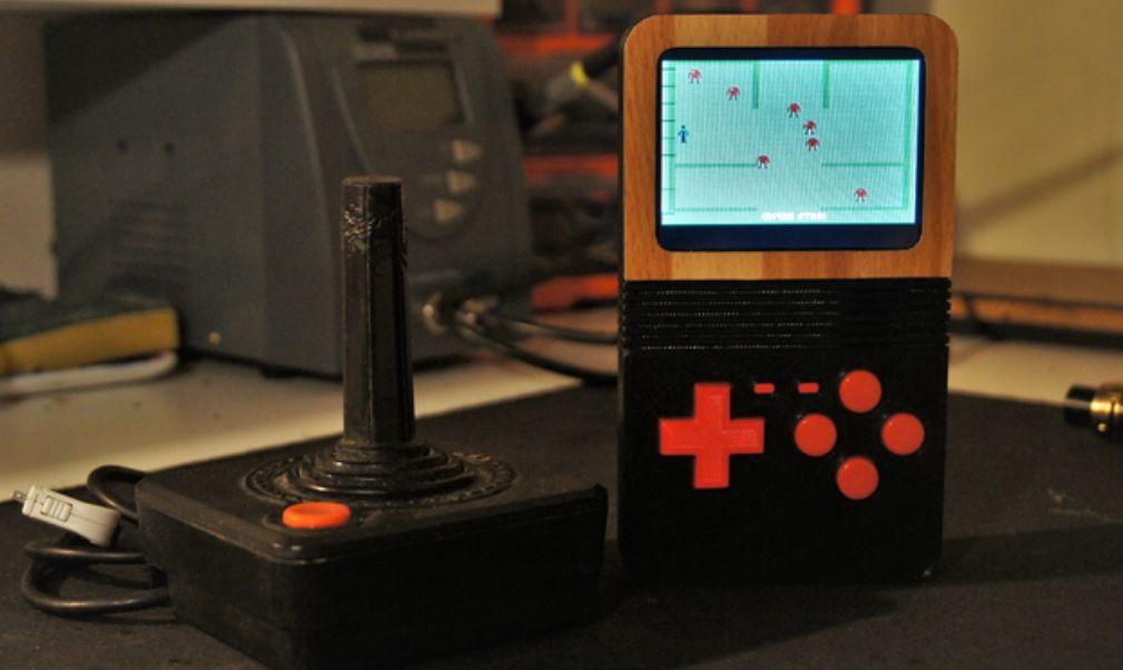 RetroHand: Atari 2600 trifft auf Gameboy